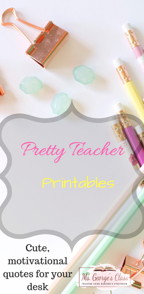Free Classroom Printables - Ms  George's Class